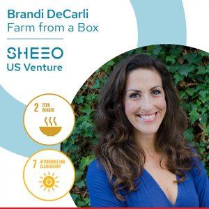 Brandi DeCarli, Founder, Farm From a Box