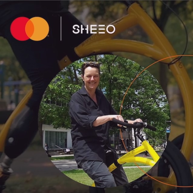 BE, the Alinker: Mastercard & SheEO